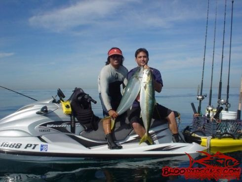 Jetski fishing bloodydecks for Best jet ski for fishing