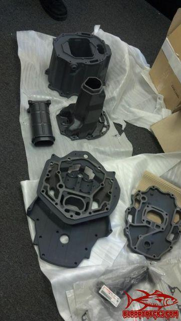 Yamaha F225 4stroke exhaust corrosion  | Bloodydecks
